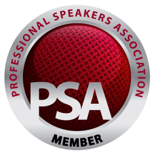 Member of Professional Speaking Association